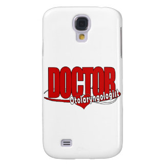 OTOLARYNGOLOGIST  ENT LOGO BIG RED DOCTOR SAMSUNG GALAXY S4 COVER