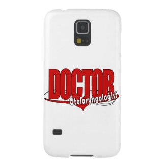 OTOLARYNGOLOGIST  ENT LOGO BIG RED DOCTOR GALAXY S5 COVERS