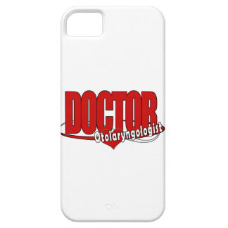 OTOLARYNGOLOGIST  ENT LOGO BIG RED DOCTOR iPhone 5 COVERS