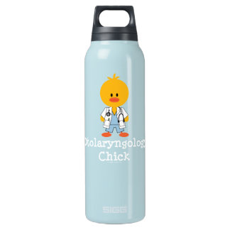 Otolaryngologist Otolaryngology Chick Insulated Water Bottle