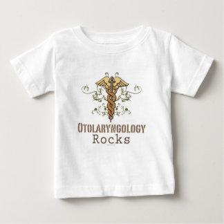 Otolaryngology Rocks Caduceus Baby T-shirt