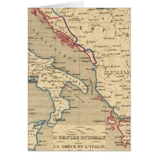Otomano de L Empire la Grece y l Italie Felicitacion