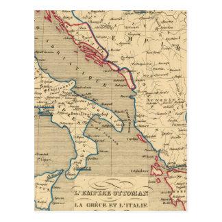 Otomano de L Empire la Grece y l Italie Tarjeta Postal