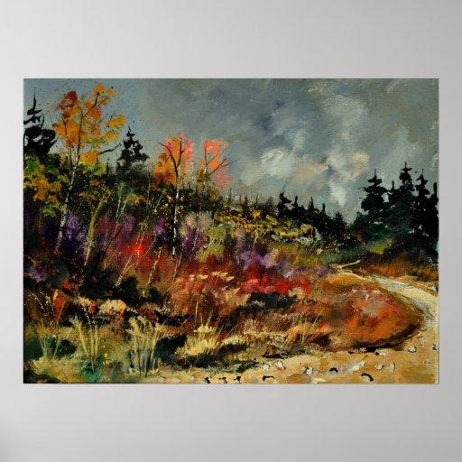 otoño 45210152 póster