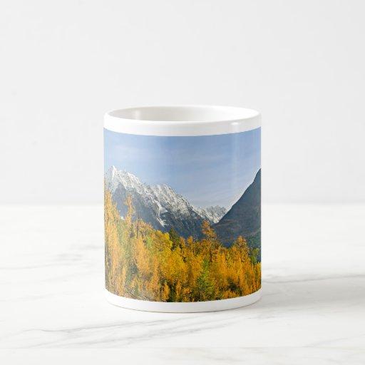 Otoño de Alaska Taza De Café