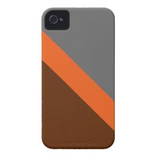 Otoño de GEOSTRIPS iPhone 4 Case-Mate Protector