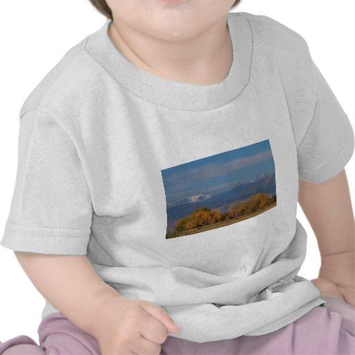 Otoño de la divisoria continental del condado de camiseta