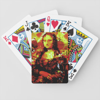 Otoño de Mona Lisa Cartas De Juego