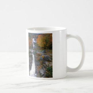 Otoño de plata de la cascada taza de café