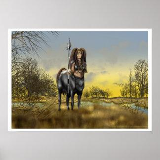 Otoño del Centaur Póster