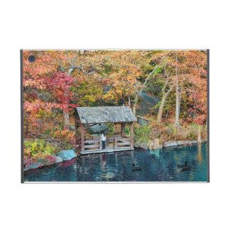 Otoño del Central Park de NYC, el lago y poco muel iPad Mini Cárcasas