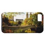 Otoño del Central Park - New York City iPhone 5 Case-Mate Fundas