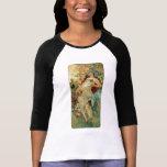 Otoño del ~ de Nouveau del arte de Alfonso Mucha Camisetas