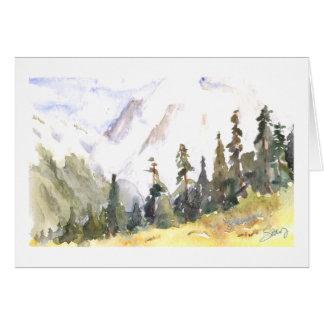 Otoño del Mt. Shuksan Tarjeta De Felicitación