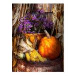 Otoño - el otoño es festivo postal