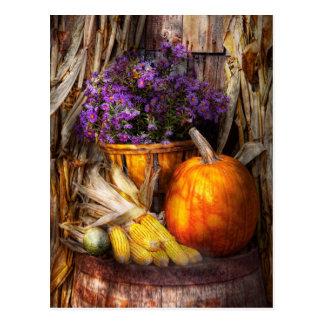 Otoño - el otoño es festivo tarjeta postal