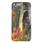 Otoño en Central Park: Navegantes por el puente Funda De iPhone 6 Barely There