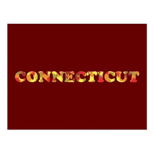 Otoño en Connecticut Postales