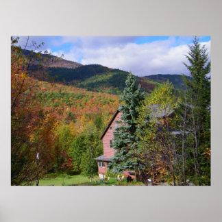 Otoño en el Adirondacks Póster