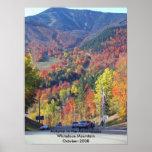 Otoño en el Adirondacks Poster