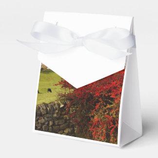 Otoño en el país cajas para regalos de boda