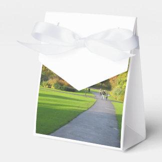 Otoño en el parque cajas para detalles de boda