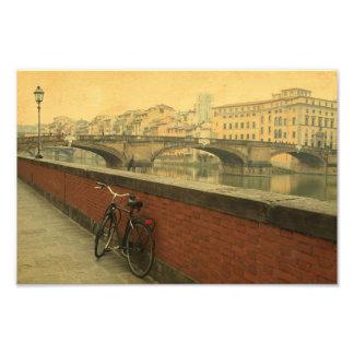 Otoño en Florencia, vintage Fotografía