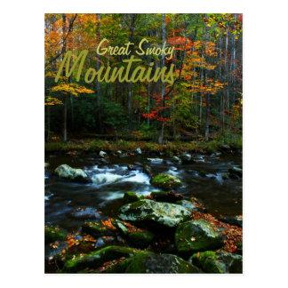 Otoño en Great Smoky Mountains Postal