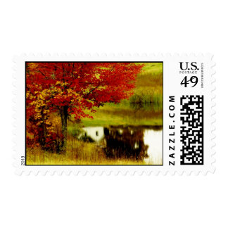 Otoño en Kentucky Sellos Postales