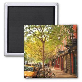 Otoño en la ciudad del alfabeto, East Village, NYC Iman De Frigorífico