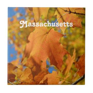 Otoño en Massachusetts Tejas Cerámicas