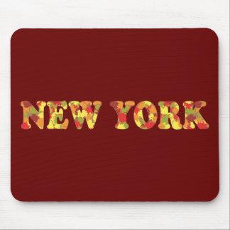 Otoño en Nueva York Alfombrilla De Ratones