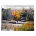 Otoño en Vermont Calendario