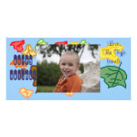 Otoño feliz tarjeta fotográfica personalizada