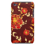 Otoño floral barely there iPod funda
