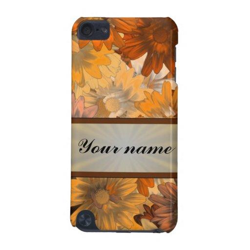 Otoño floral funda para iPod touch 5G