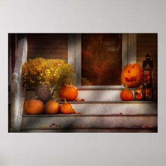 Otoño - Halloween - somos todos felices de verle Posters