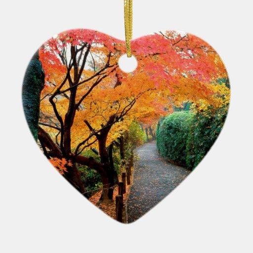 Otoño Kyoto Japón Ornamento Para Arbol De Navidad