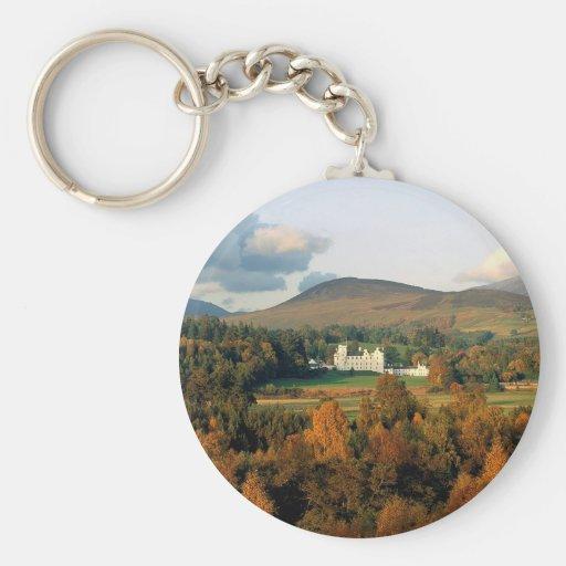 Otoño Montross Escocia Llaveros