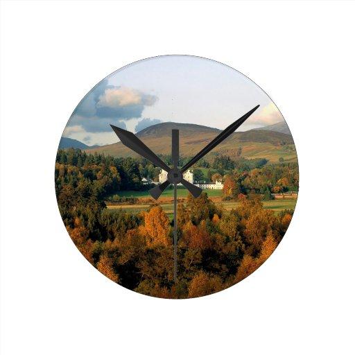 Otoño Montross Escocia Relojes De Pared