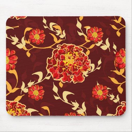 Otoño Mousepad floral