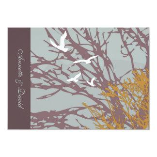 Otoño Notecard personalizado amor Invitación 11,4 X 15,8 Cm