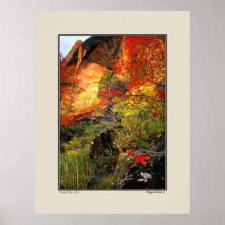 Otoño - parque nacional de Zion Posters
