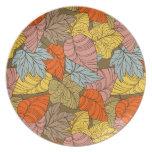 otoño plato