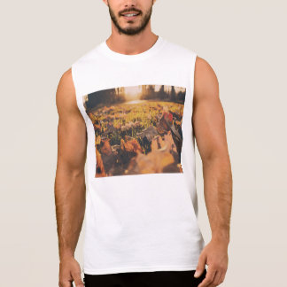 otoño camisetas sin mangas