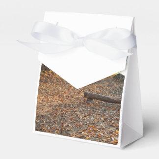 Otoño por el río cajas para detalles de boda