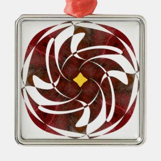 Otoño que gira noviembre de 2012 cruzado ornamentos de reyes