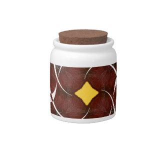 Otoño que gira noviembre de 2012 cruzado platos para caramelos