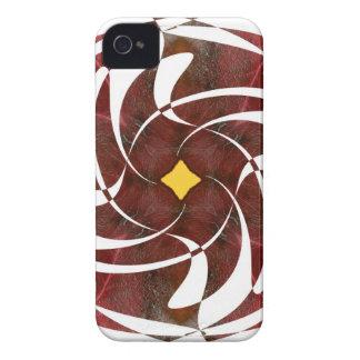 Otoño que gira noviembre de 2012 cruzado Case-Mate iPhone 4 funda