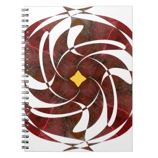 Otoño que gira noviembre de 2012 cruzado cuadernos